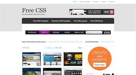 Web Templates Gratis 7 Siti Internet Dove Trovarli 187 Pensa Creativo Free Css Templates