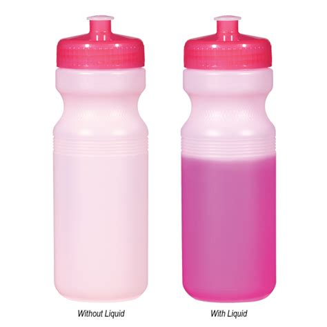 chagne bottle 24 oz color changing bottle usimprints