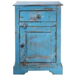 Nachttisch Blau by Nachttisch Aus Mangoholz Mit Schublade B 42 Cm Blau