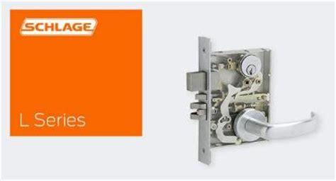 Schlage L Series Template by Allegion Hardware