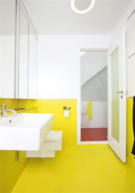 yellow wall bathroom bathroom trend report a little ray of sunshine pivotech