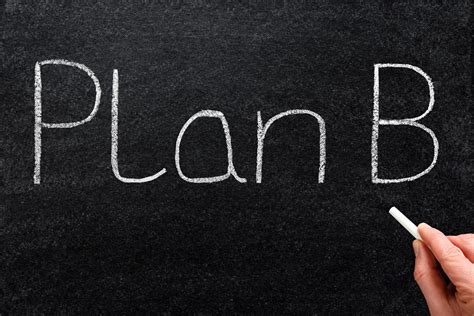 do you a plan b for your business house you should