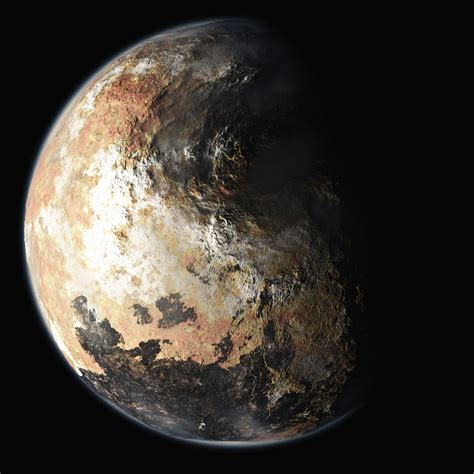 new images of pluto new artist s renderings of pluto