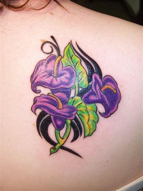 tatuaggio fiori la violetta significato e foto