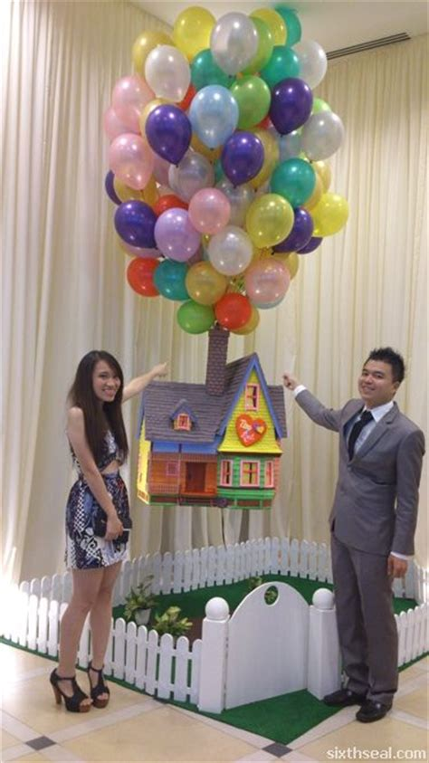 Themes In The Film Up | pixar s up themed wedding we have the full story