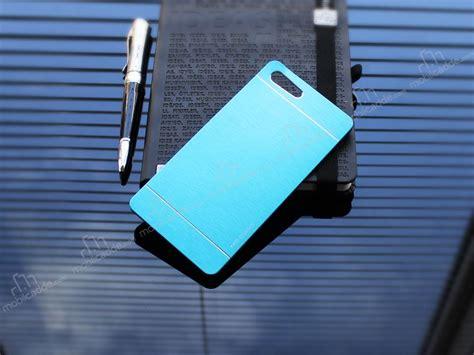 Motomo For Sony Xperia M5 motomo sony xperia m5 metal mavi rubber kılıf stoktan