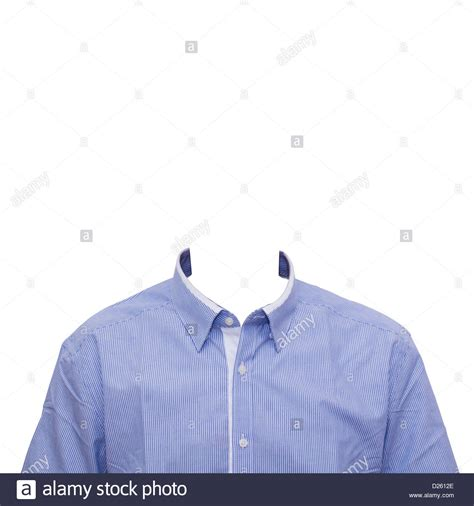 photo template collar shirt template for concept or formal portraits