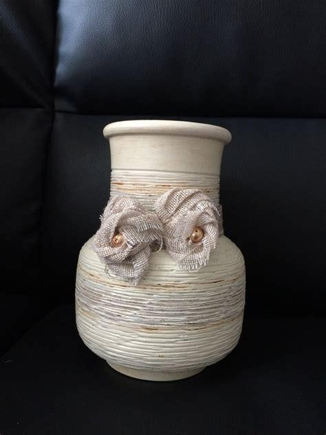 vaso shabby vaso ceramica shabby per la casa e per te decorare