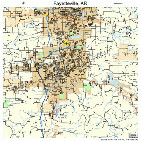 us map fayetteville arkansas fayetteville arkansas map 0523290