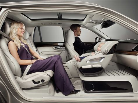 volvo seat volvo reveals rear facing car seat business insider