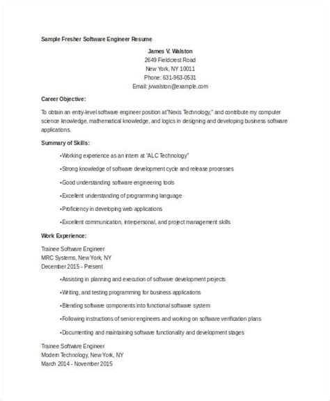 12 fresh software developer resume template sample shalomhouse us