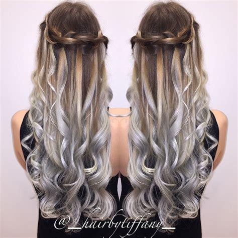 silver brown hair silver spring hair colors ideas