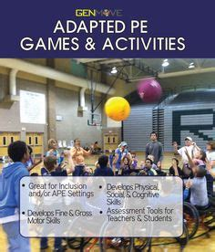 8 adapted mini pe lessons 1000 ideas about pe activities on pinterest physical