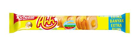 Richeese Ahh Cheese 5 5 Gr richeese ahh cheese flavored corn stick nabati snack