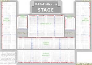 Brighton Centre Floor Plan brighton centre detailed seat amp row numbers concert
