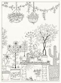 secret garden coloring book 1000 images about coloriage nature on
