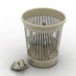 waste paper basket 3d model home appliances 3d models waste basket s n250512 3d
