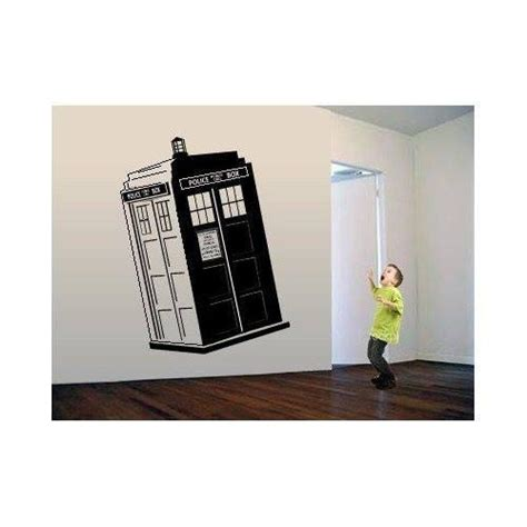 dr who wall stickers doctor who tardis box whovian die cut vinyl wall decal sticker sticky addiction