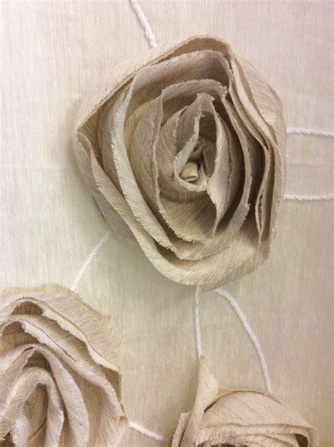applicazioni per tende tenda in lino con applicazioni fiori vergnano tendaggi