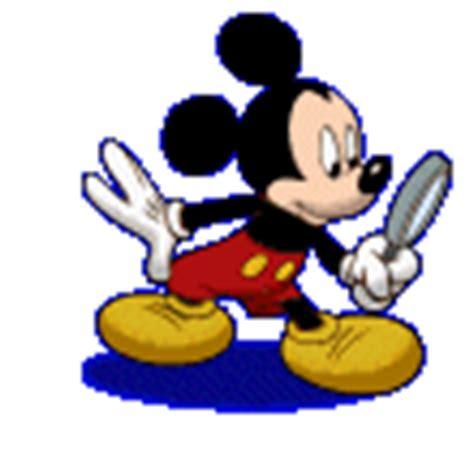 imagenes gif lupa gif mickey mouse investigando con lupa gifs e im 225 genes