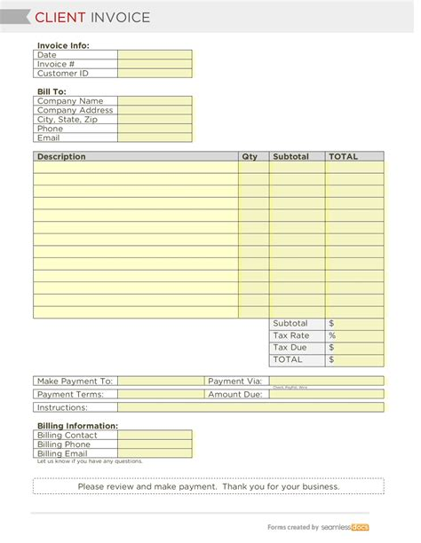 invoice template for asp net generous client template gallery entry level resume