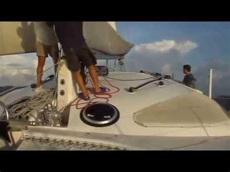 lerouge catamaran design sailing fast catamaran barramundi 470 design erik