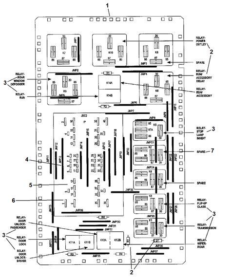 junction block relays circuit breaker for 2007 jeep grand