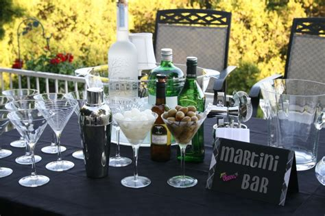 martini ideas build a custom martini bar for your wedding reception