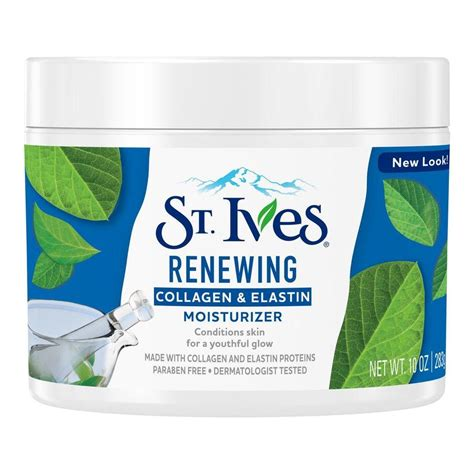 best st ives products st ives renewing moisturizer collagen