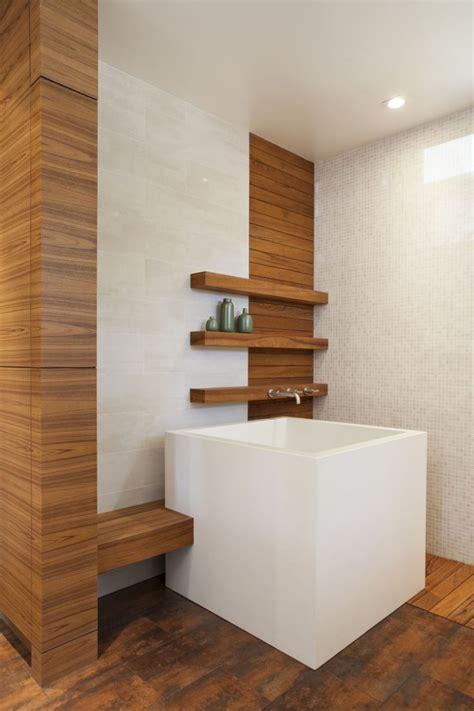 die japanische ofuro badewanne aus holz kann heilen - Japanische Sitzbadewanne