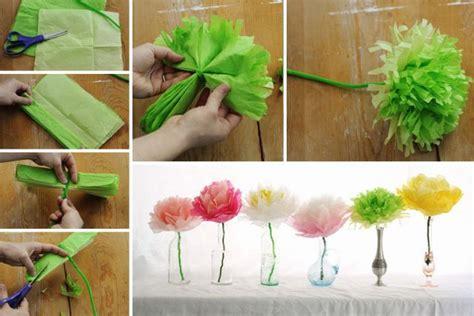 Bricolage Fleur En Papier De Soie by Bricoler Des Fleurs Artificielles Manuel