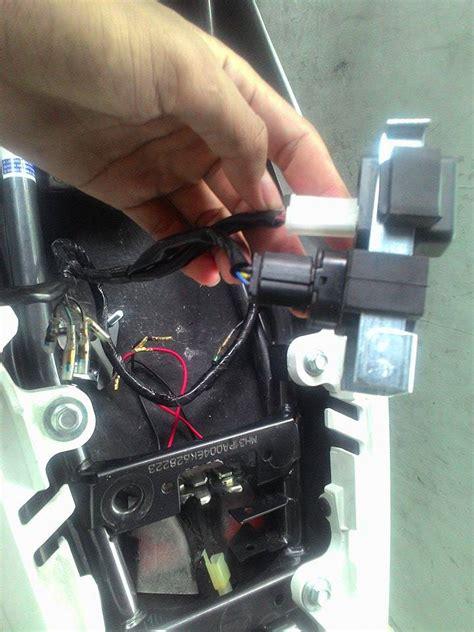 Alarm Motor Vixion motor vixion gak mau hidup notifikasi lu kuning hidup