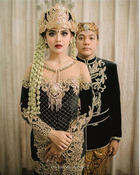 Kebaya Modern Setelan Hitam Bunga Pepaya 1 ningrat mewah 15 kebaya cantik untuk pernikahan adat sunda