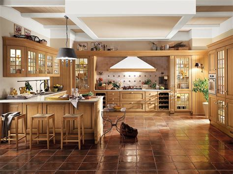 americane interni cucina con penisola il modulo formato da un pensile e una