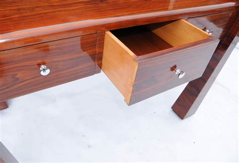 art deco style writing desk rosewood art deco desk 1920s office furniture writing