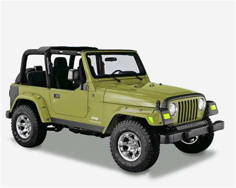 Painting Jeep Fenders Bushwacker 6 Quot Pocket Style Factory Match Painted Fender