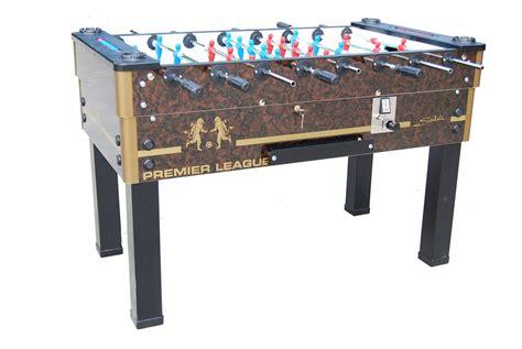 epl table football sardi premier league coin operated football table