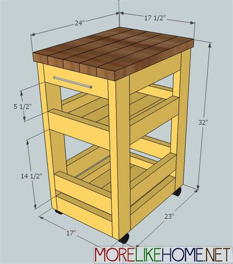 how to build a kitchen island cart build a kitchen cart home