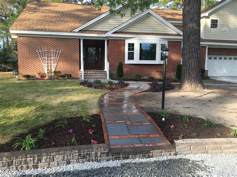 before and after coastal edge landscaping landscaping