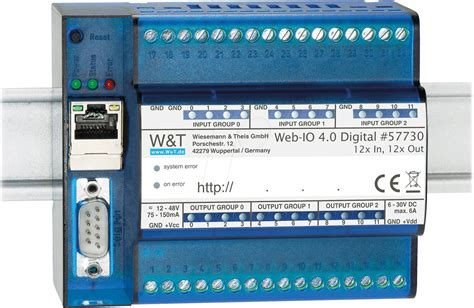 web io web io 57730 web io 4 0 digital 12xdigi in 12xdigi out