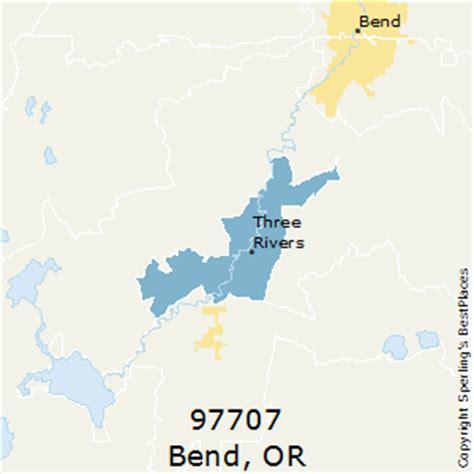map of bend oregon zip codes best places to live in bend zip 97707 oregon