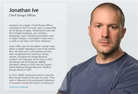 apple s new retail chief announces three month advance on jony ive officially takes chief design officer title at