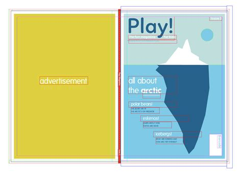 magazine template for adobe illustrator how to create a simple magazine template in adobe indesign