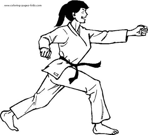 coloring pages karate printable karate coloring book printable coloring pages