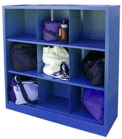 9 Cubby Shelf by Sandusky Ic00461852 Metal Cubby Shelf With 9 Storage Cubes