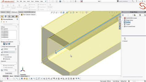 tutorial solidworks weldments solidshots creating weldment profiles free solidworks