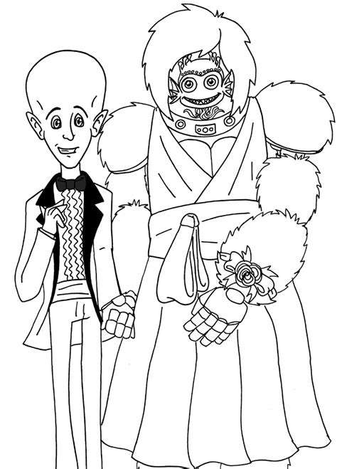Megamind Pics Coloring Home Megamind Coloring Pages Printable