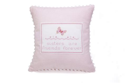 Baby Pillow by Embroidered Butterfly Baby Pillow Featured At Babybox
