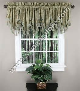 Blue And Brown Kitchen Curtains Jacquard Window Topper Brown Luxury Home Textiles Kitchen Valances