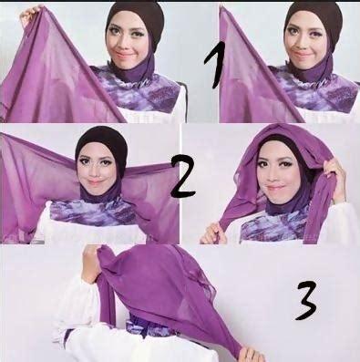 tutorial hijab bentuk turban tutorial hijab turban yang elegan dan cantik